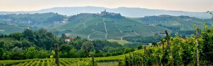 Landschaft im Piemont Italien
