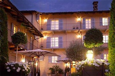 Urlaub im Hotel im Piemont